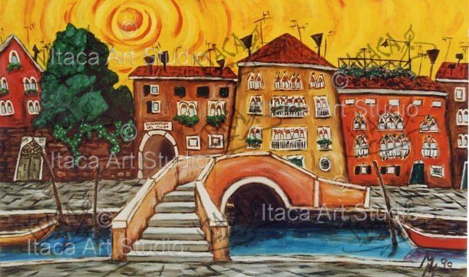 Itaca Art Studio - 39 veduta con ponte